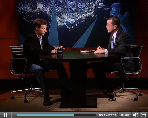 Colbert video