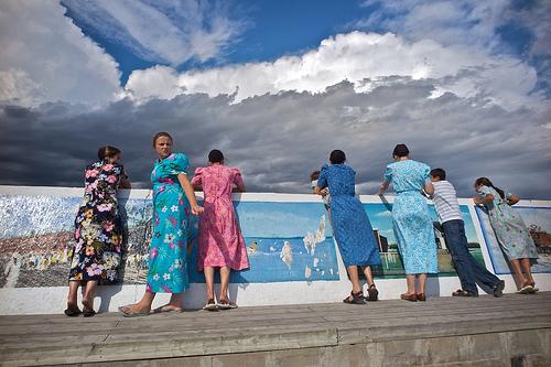 Mennonites in flip flops