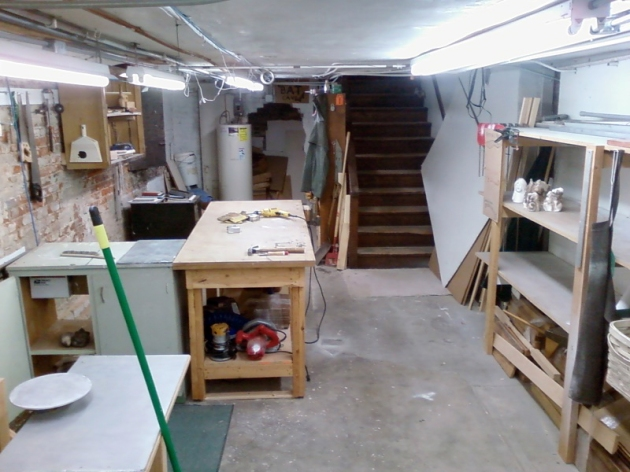 Functional basement studio